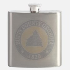 Faded Butts County Flask