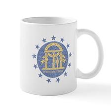 Vintage Georgia State Flag Mug