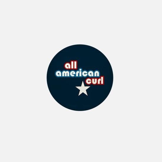 All American Curl Mini Button