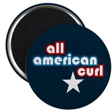 All American Curl Magnet
