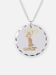 Hawaiian Pinup Hula Necklace