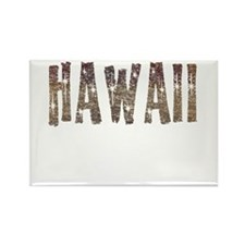 Hawaii Coffee and Stars Rectangle Magnet