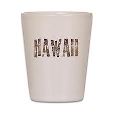 Hawaii Coffee and Stars Shot Glass