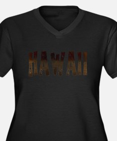 Hawaii Coffee and Stars Plus Size T-Shirt