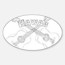 Hawaii Guitars Decal