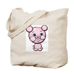 Cutie Cartoon Pig Piglet Cute Art Tote Bag