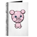Cutie Cartoon Pig Piglet Cute Art Journal