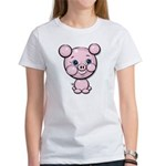 Cutie Cartoon Pig Piglet Cute Art Women's T-Shirt