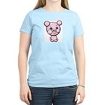 Cutie Cartoon Pig Piglet Cute Art Women's Light T-