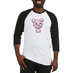 Cutie Cartoon Pig Piglet Cute Art Baseball Jersey