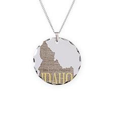 Vintage Idaho Potato Necklace