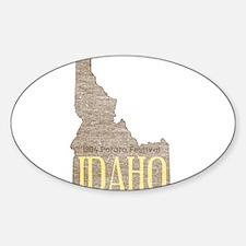 Vintage Idaho Potato Decal