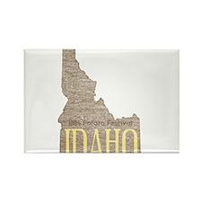 Vintage Idaho Potato Rectangle Magnet (10 pack)