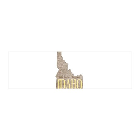 Vintage Idaho Potato Wall Decal