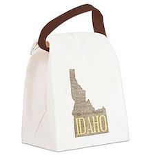 Vintage Idaho Potato Canvas Lunch Bag
