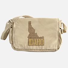 Vintage Idaho Potato Messenger Bag