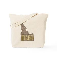 Vintage Idaho Potato Tote Bag