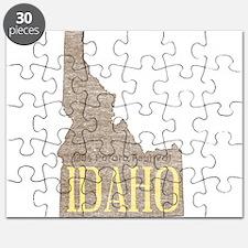 Vintage Idaho Potato Puzzle