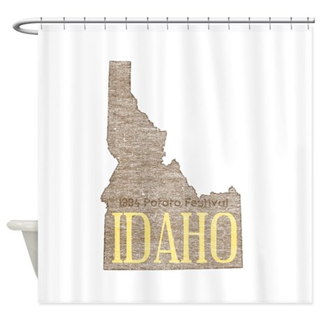 Vintage Idaho Potato Shower Curtain