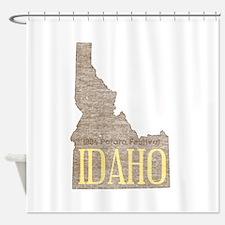Vintage Idaho Potato Shower Curtain