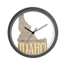 Vintage Idaho Potato Wall Clock