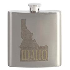 Vintage Idaho Potato Flask