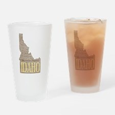 Vintage Idaho Potato Drinking Glass