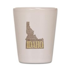 Vintage Idaho Potato Shot Glass