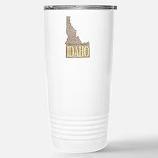 Vintage Idaho Potato Travel Mug