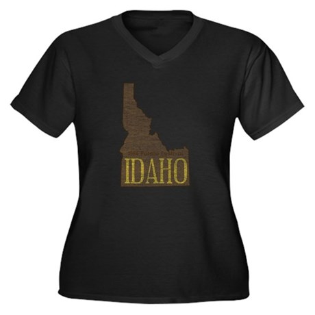 Vintage Idaho Potato Plus Size T-Shirt