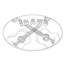 Idaho Guitars Decal