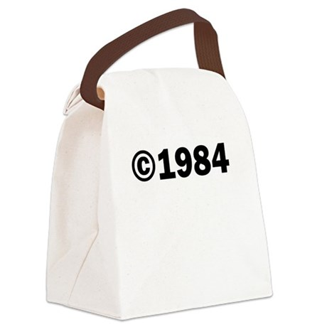 COPYRIGHT 1984 Canvas Lunch Bag