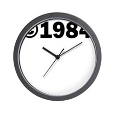 COPYRIGHT 1984 Wall Clock