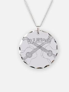Illinois Guitars Necklace