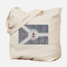 Fort Wayne Vintage Flag Tote Bag