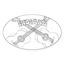 Indiana Guitars Decal