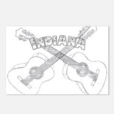 Indiana Guitars Postcards (Package of 8)