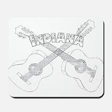 Indiana Guitars Mousepad