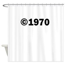 COPYRIGHT 1970 Shower Curtain