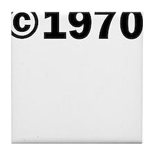 COPYRIGHT 1970 Tile Coaster