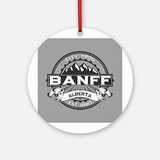 Banff Grey Ornament (Round)