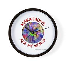 Marathons are my World Wall Clock