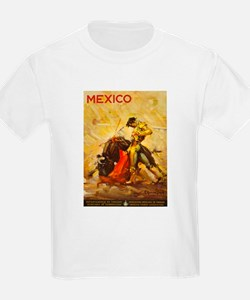 Vintage Mexico Bullfight Travel T-Shirt