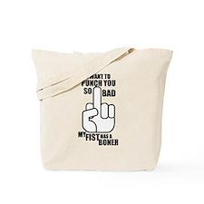 Fist BONER Tote Bag