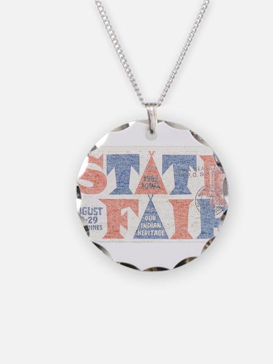 Vintage Iowa State Fair Necklace