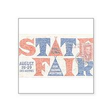 Vintage Iowa State Fair Sticker