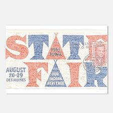 Vintage Iowa State Fair Postcards (Package of 8)