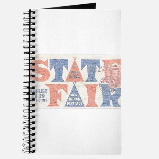 Vintage Iowa State Fair Journal