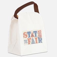 Vintage Iowa State Fair Canvas Lunch Bag