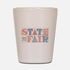 Vintage Iowa State Fair Shot Glass